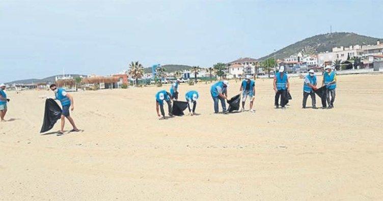 Balıkesir sahilleri pırıl pırıl oluyor