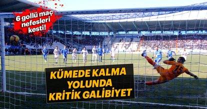 Erzurumspor: 4 - Sivasspor: 2 (Maç sonucu)