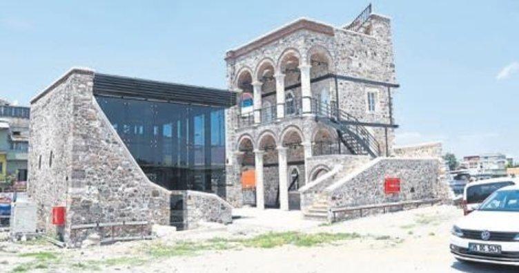 Tescilli bina restore edilerek müze oldu