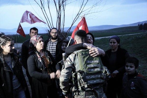 Afrin Operasyonu'nun en yeni fotoğrafları ortaya çıktı! İşte o fotoğraflar