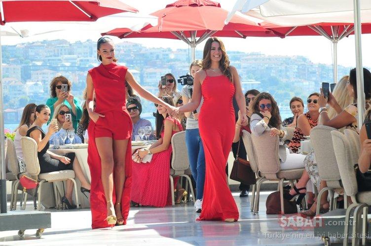 Eski Türkiye Güzeli Özlem Kaymaz ile Miss Turkey ikincisi kızı Tara De Vries büyüledi!