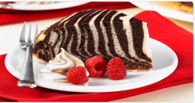 Zebra Kek Tarifi - Zebra Kek Nasıl Yapılır?