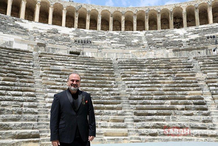 Rehberler Aspendos'tan dünyaya seslendi