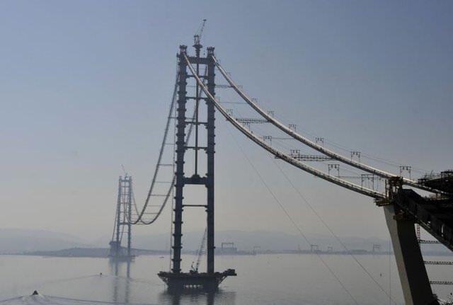 Körfez Köprüsü'nde sona yaklaşıldı!