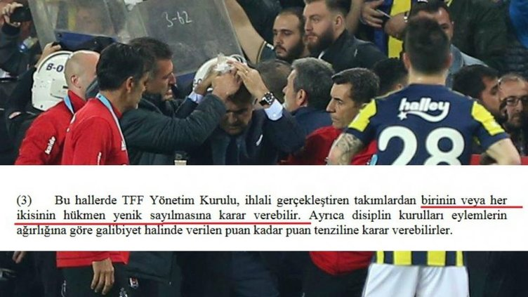 Son Dakika Haberi: TFF, Fenerbahçe - Beşiktaş maçı için karar verdi