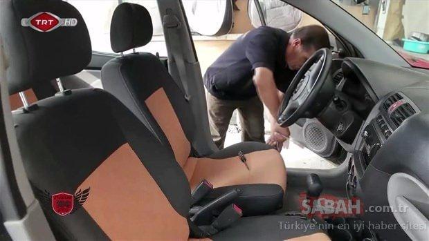 Aracının son halini görünce şoke oldu!