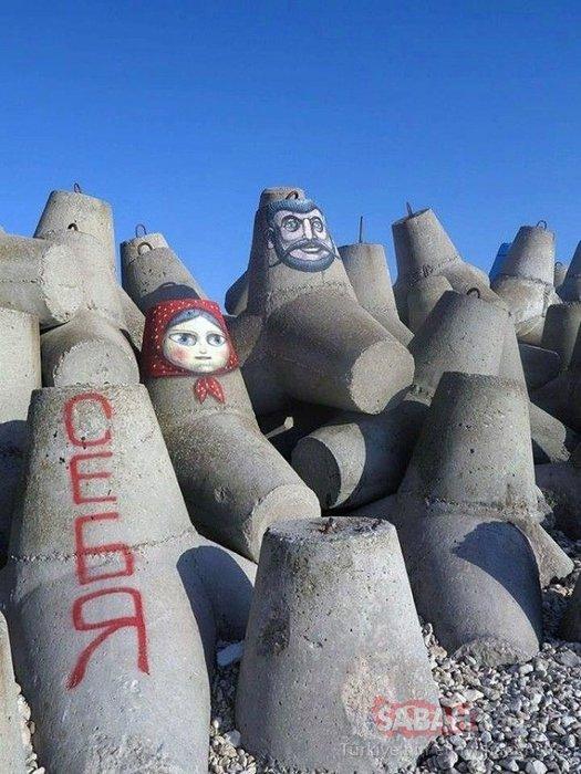 Sokak sanatından şaşırtıcı örnekler!