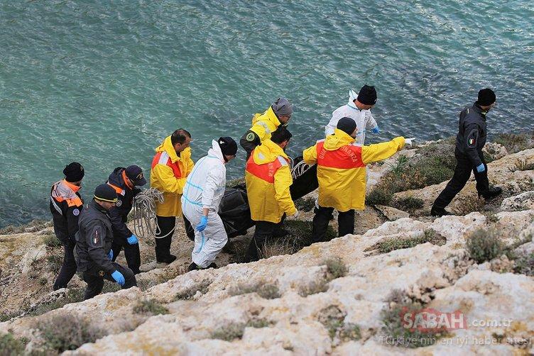 İtalyan kıyılarında 5 göçmenin cesedi bulundu