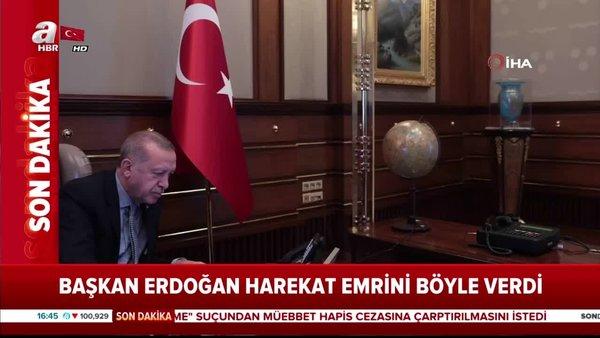 Başkan Erdoğan Barış Pınarı Harekatının emrini böyle verdi
