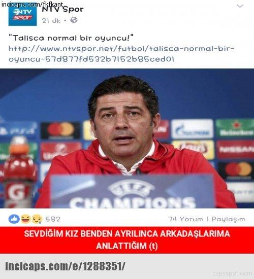Benfica - Beşiktaş maçı capsleri