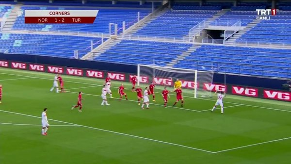 Norveç 0 - 3 Türkiye Tüm Goller Geniş Maç Özeti tartışmalı pozisyonlar! Türkiye Norveç karşısında da tarih yazdı   Video