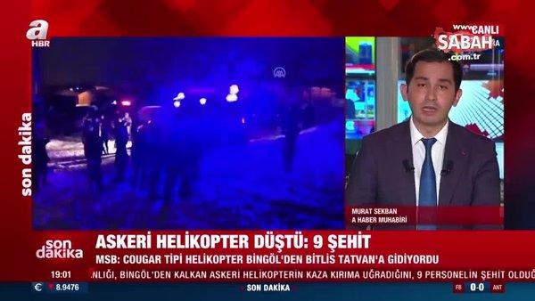 Bitlis'te düşen helikopterde 8. Kolordu Komutanı Korgeneral Osman Erbaş da şehit oldu | Video