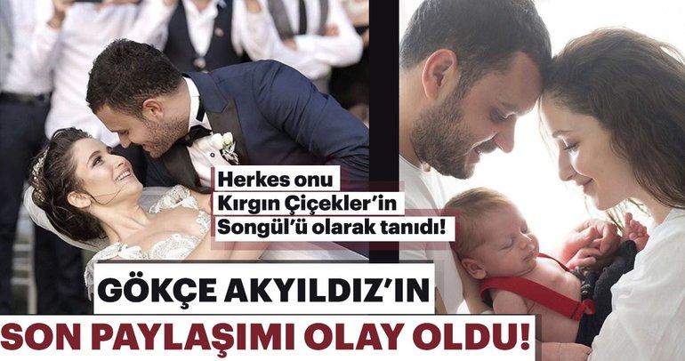 Güzel oyuncu Gökçe Akyıldız sosyal medyadan paylaştı!