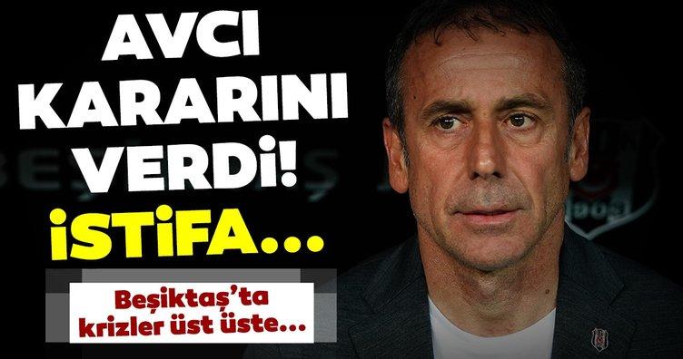 Fikret Orman'ın ardından Abdullah Avcı da istifa edecek mi? Beşiktaş'ta kriz...