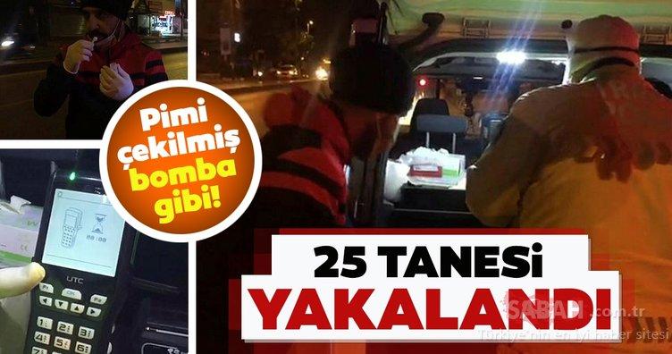 İstanbul'da uyuşturucu madde etkisinde araç kullananlar yakalandı