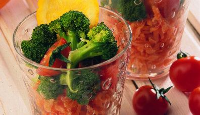 Brokolili Havuç Salatası