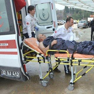 Edirne'de balıkçı teknesi devrildi: 1 yaralı, 1 kayıp