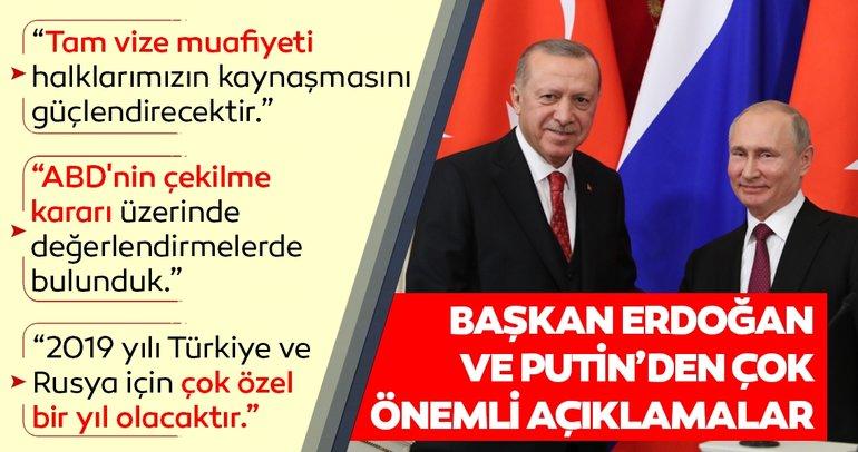 Son dakika: Başkan Erdoğan ve Putin'den ortak tepki! O mektup bizi şaşırttı