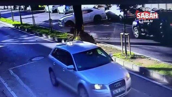 SON DAKİKA! Ölümden dönen YouTuber Enes Batur'un feci kaza görüntüleri ortaya çıktı | Video