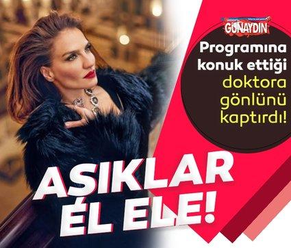 Güzel sunucu Ebru Akel gönlünü programına davet ettiği doktora kaptırdı! Ebru Akel ile sevgilisi ilk kez el ele yakalandı!