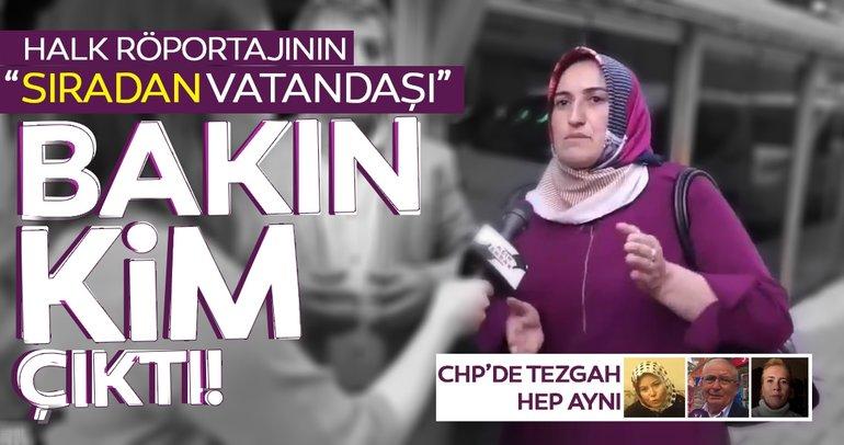 CHP'de tezgah yine aynı! Röportajdaki sıradan vatandaş CHP'li meclis üyesi çıktı!