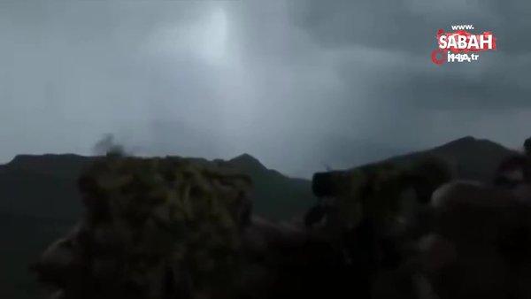 MSB: Mehmetçik, zorlu hava, arazi şartlarına rağmen Pençe-Şimşek ve Pençe-Yıldırım operasyonlarını sürdürüyor   Video