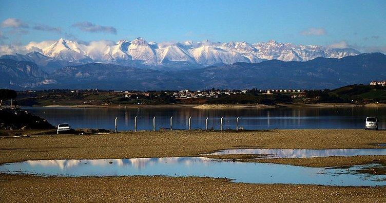 Toros Dağları'nda kartpostallık görüntüler