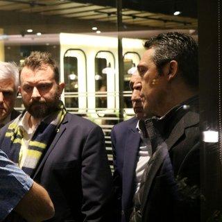 Ali Koç ve yöneticiler Soner Ergen için hastaneye akın etti