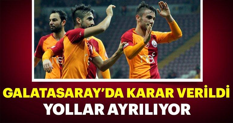 Galatasaray'da karar verildi! İki isimle yollar ayrılıyor