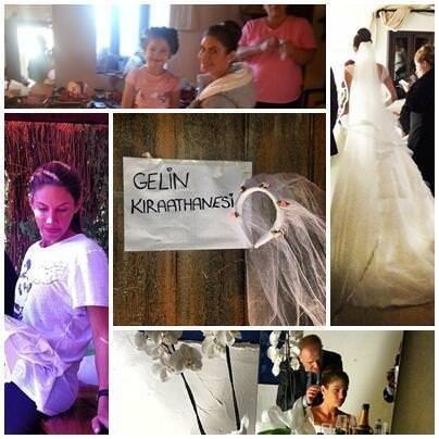 Zeynep Beşerler Bodrum'da evlendi