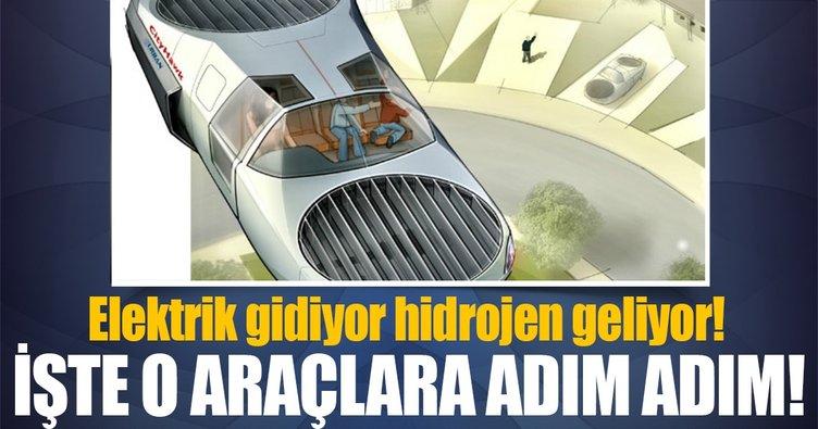 Geleceğin uçan arabaları geliyor!