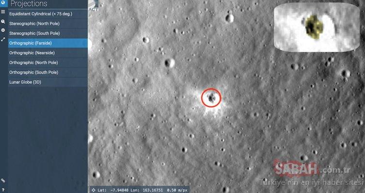 Ay'daki yeni keşif dudak uçuklattı! Daha önce böylesi görülmemişti!