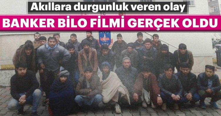 Banker Bilo filmi gerçek oldu... Trabzon'da akıllara durgunluk veren olay