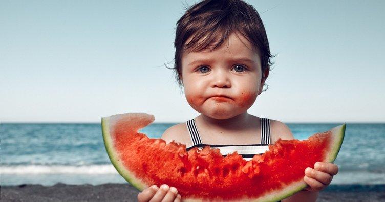 Bebekler için en sağlıklı yaz besinleri