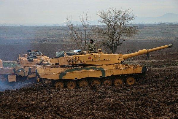 Fotoğraflarla Afrin'de gerçekleştirilen Zeytin Dalı Operasyonu