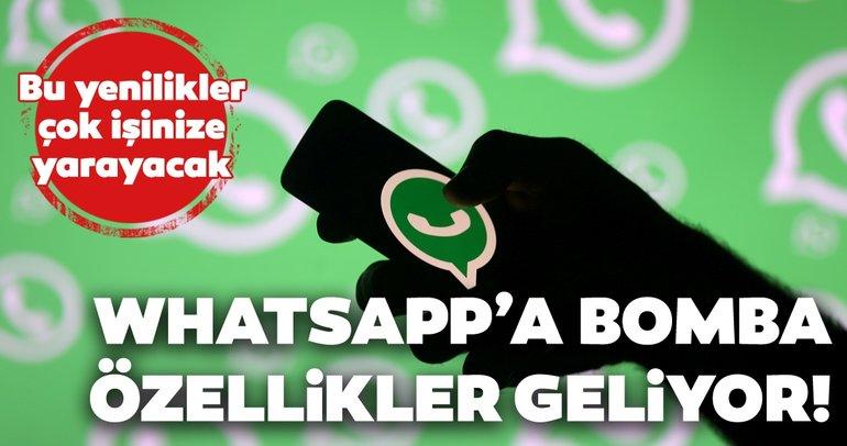 WhatsApp'a 2020'de gelecek özellikler! İşte kullanıcıları sevindirecek WhatsApp yenilikleri