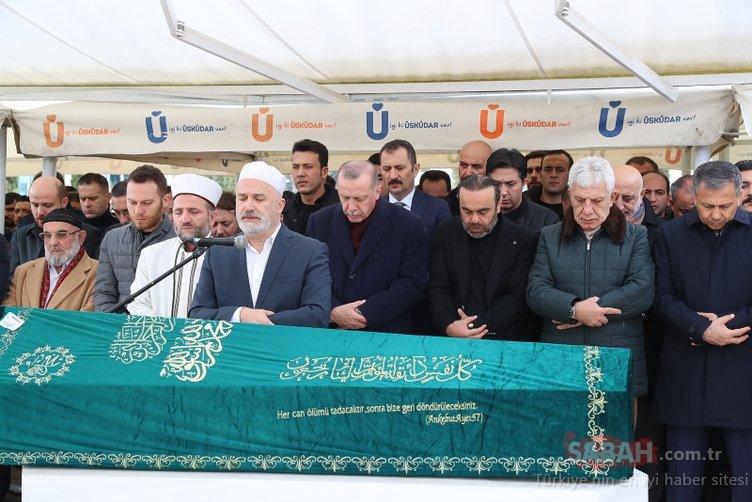 Başkan Erdoğan aile dostu Nusret Yıldırım'ın cenazesine katıldı