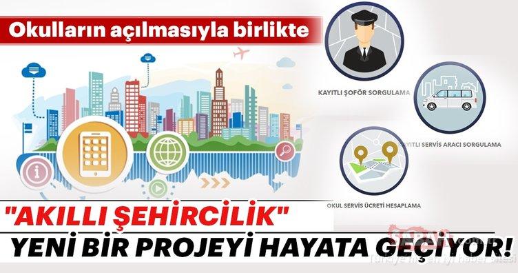 Akıllı Şehircilik konsepti çerçevesinde yeni bir proje hayata geçiyor!
