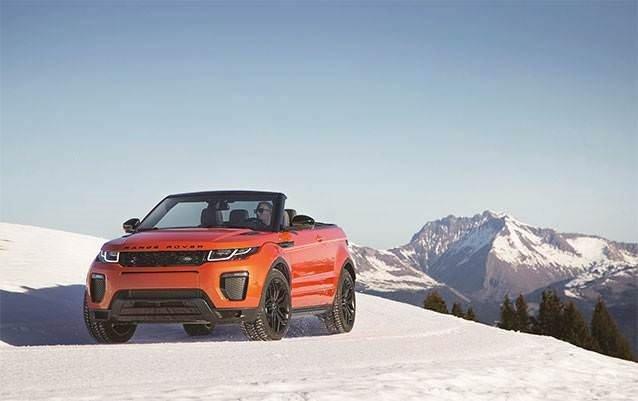 Range Rover Evoque Cabrio'nun fiyatı belli oldu