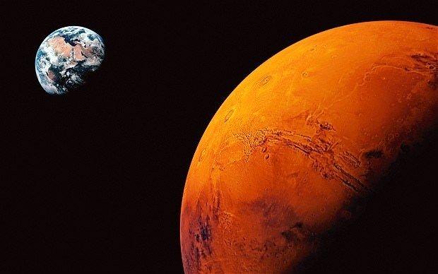Mars'a yolculuk için yeni rota