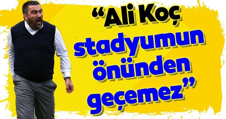 Ümit Özat'tan Ali Koç'a sert sözler!
