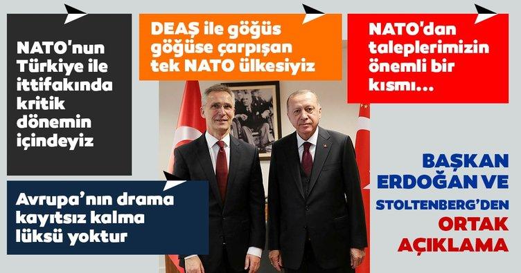 Cumhurbaşkanı Erdoğan: Hiçbir Avrupa ülkesinin Suriye'deki insani drama kayıtsız kalma lüksü yoktur