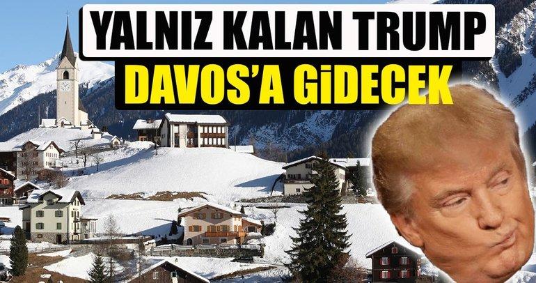 Trump, Davos'taki Dünya Ekonomik Forumu'na katılacak