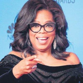 Dipten zirveye Oprah Winfrey