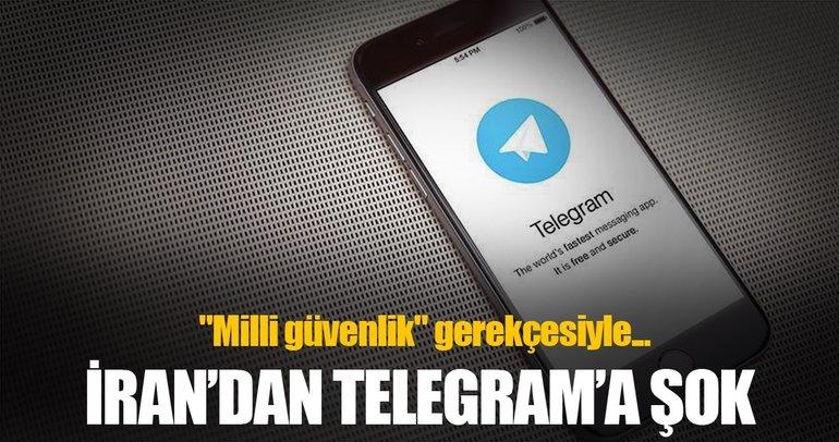 İran'dan Telegram'a şok