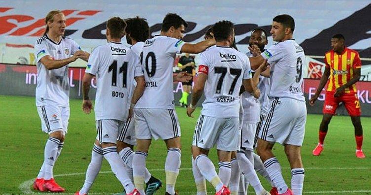 Beşiktaş Malatya'da Caner Erkin'le kazandı! Yeni Malatyaspor 0-1 Beşiktaş MAÇ SONUCU