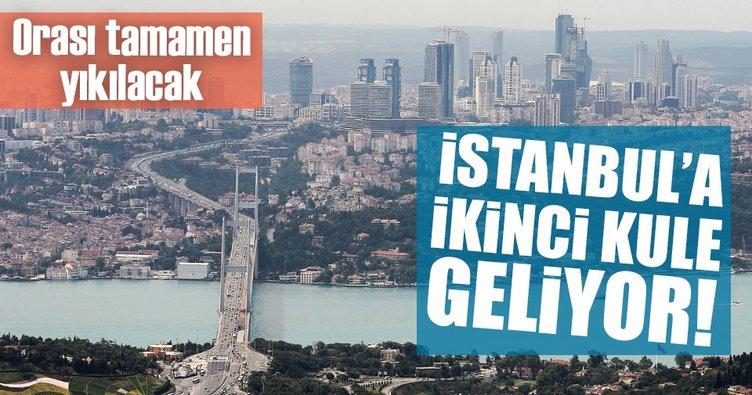 İstanbul'a ikinci kule geliyor!