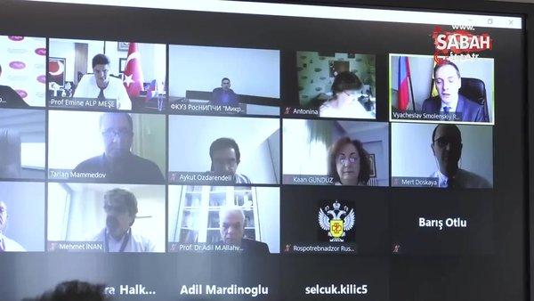 Aşı Bilim Kurulu, Rus tarafıyla ilk toplantısını gerçekleştirildi | Video
