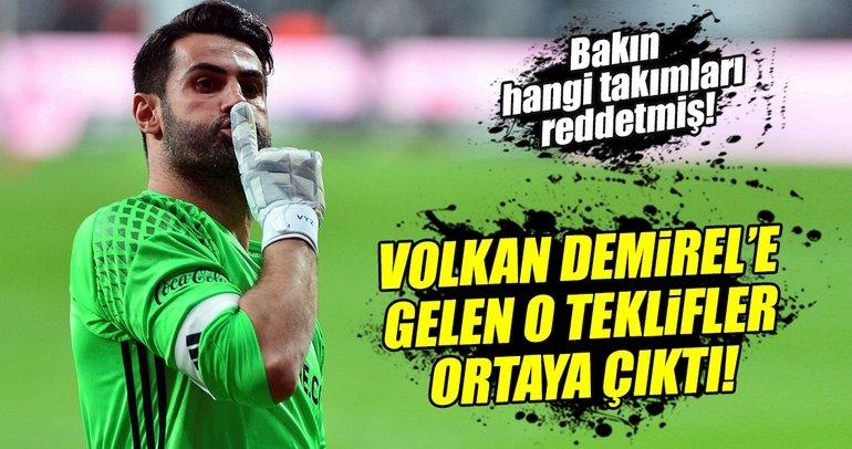 İşte Volkan Demirel'in Fenerbahçe uğruna reddettiği takımlar
