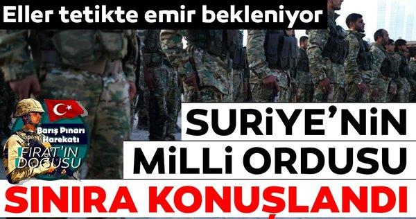 Hazırlıklar tamam! Suriye milli ordusu harekete geçti